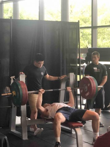 WREC holds third annual bench press competition
