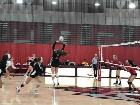 Wildcats battle Pioneers in five set victory