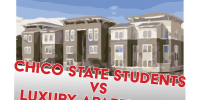 Chico students vs. luxury apartments