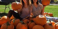 Wildcats carve pumpkins for a meaningful cause