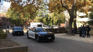 Altercation breaks out between Chico State GOP president and protesting student