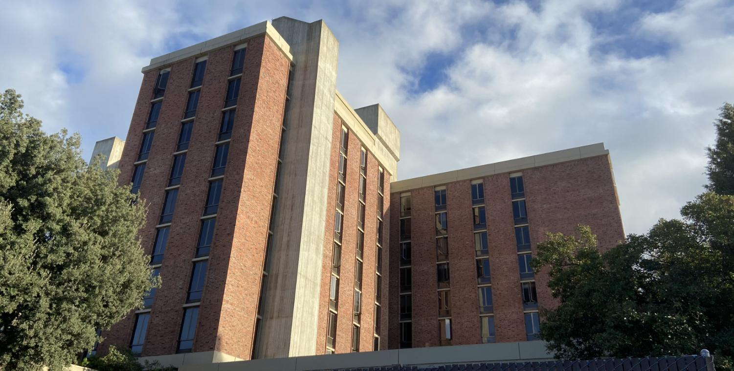 A man was reported by Resident Advisors shouting from Legion Avenue at Whitney Hall