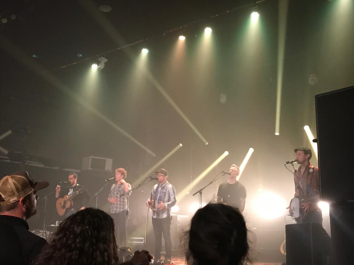 Grammy award-winning bluegrass band, the Infamous Stringdusters played at the Senator on Wednesday, January 22.