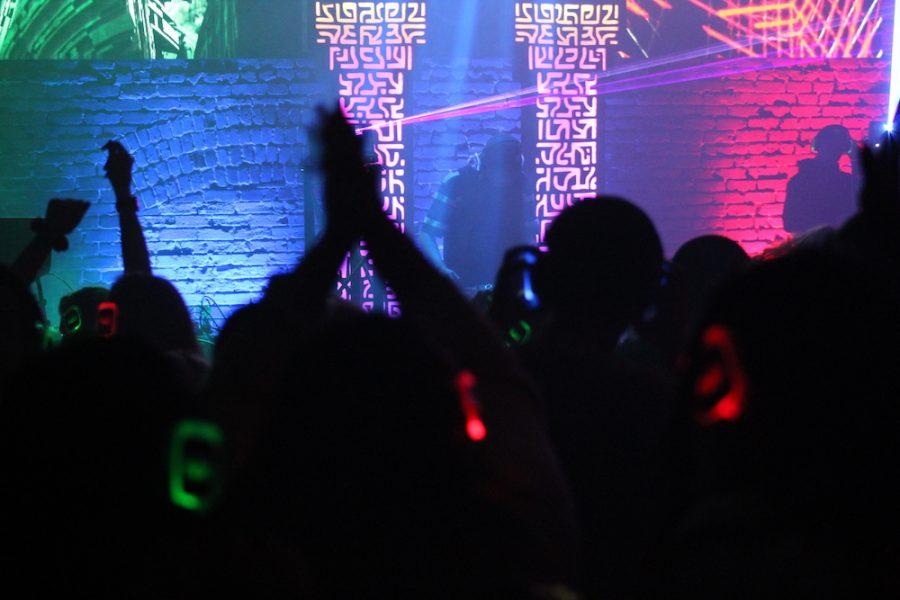 Silent disco at the El Rey Theatre