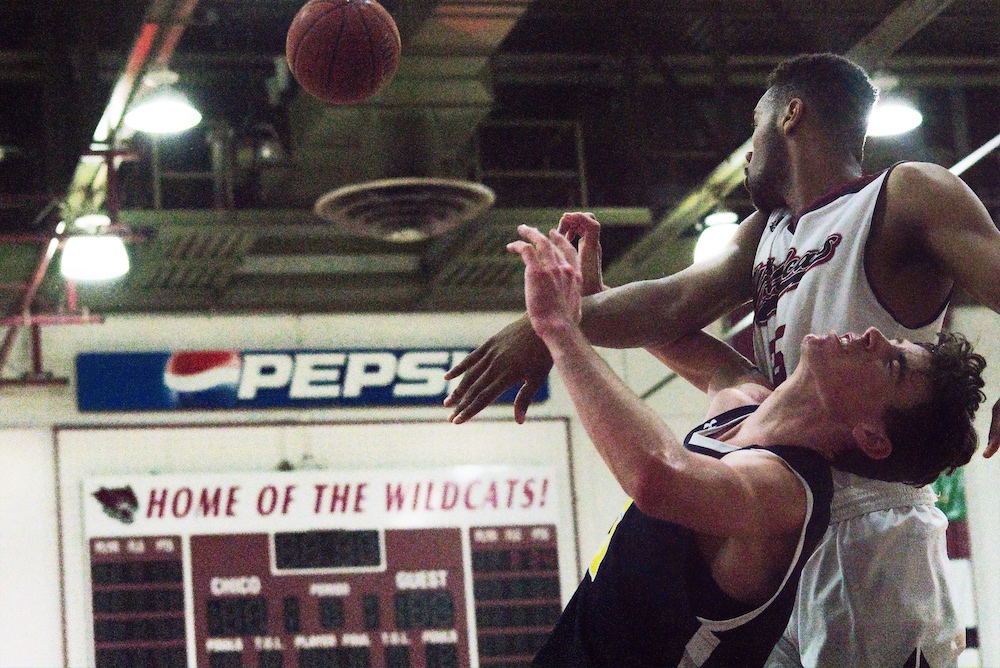 Justin Briggs sets the Chico State record for 154 total blocks.