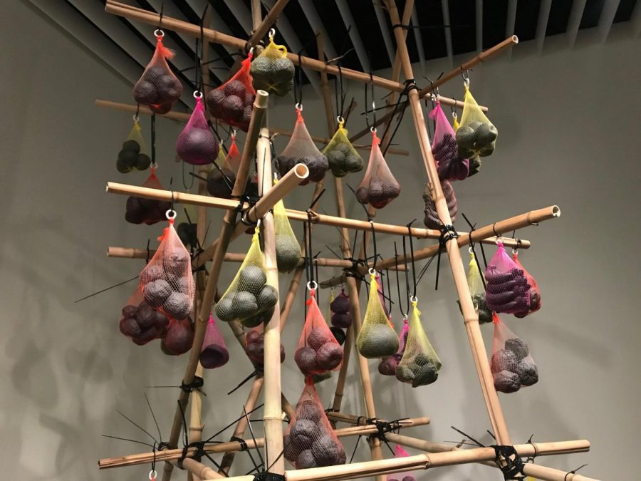 Lu's work is currently available to view in the Jacki Headley University art gallery.