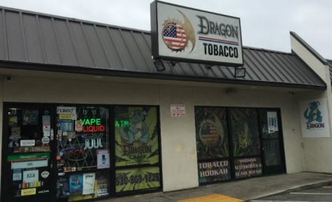 An outside picture of Dragon Tobacco