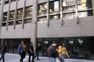 Student reports sexual harassment in Meriam Library