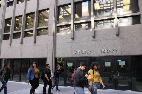 Police, students respond to sexual harassment in Meriam Library