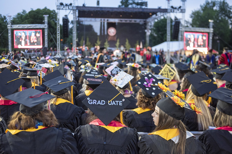 Some students don't believe the virtual commencement is enough of a celebration.