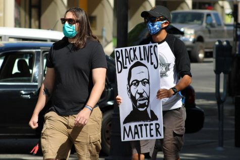 Hundreds peacefully protest in Chico for Black Lives Matter