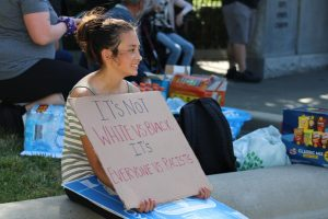 Reflection: An Orion reporter's experience covering Chico's largest BLM protest