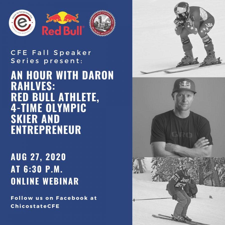 Red Bull promotional poster for Olympian Daron Rahlves