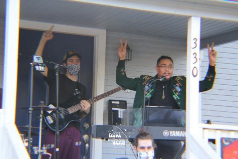 Porchside is a local spot that many Chico locals who are familiar with the music scene are bound to recognize, making it a fitting location for the first episode.
