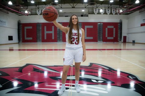 #23 Haley Ison is a junior and current member of the Chico State Wildcats women