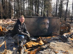 Shane Grammer returned to Paradise on the two year anniversary of the Camp Fire on Nov. 8