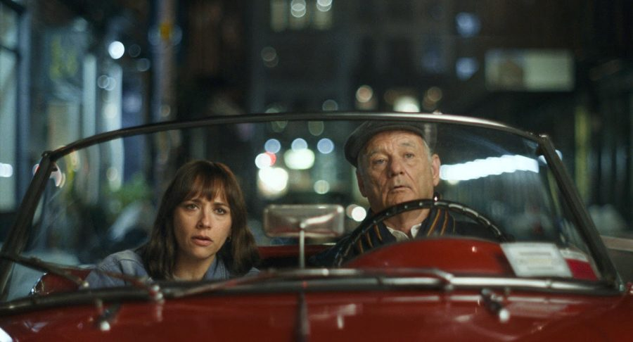 Rashida+Jones+and+Bill+Murray+are+the+stars+of+Sofia+Coppola%27s+newest+film%2C+%22On+the+Rocks%22+which+released+Oct.+23.+Photo+courtesy+of+Apple+TV%2B