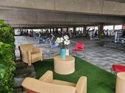 WREC 2.0's new lounge