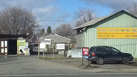 Chico Scrap Metal remains at its 20th Street location despite city rezoning ordinances. February 2, 2021.