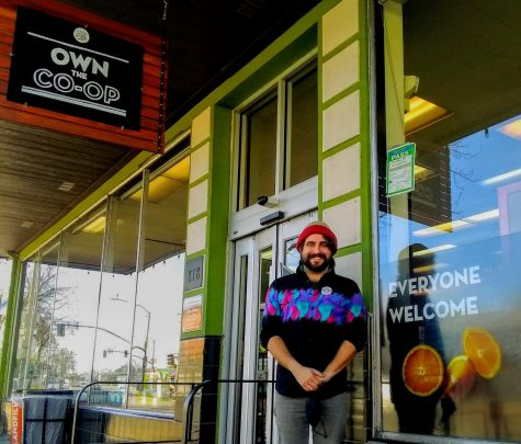 Chico Natural Foods Co-op Brand Manager Joey Haney is eager to greet CalFresh recipients with a substantial discount.
