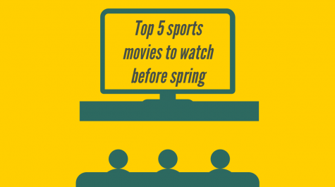 Here is a top five list of some sports movies to watch before spring rolls around.