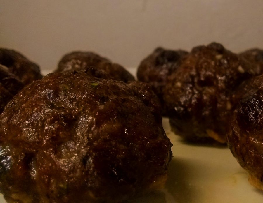 You can't celebrate National Meatball Day without them. Sweet, salty and savory meatballs cannot disappoint. Photo by Ian Hilton, 3/4/2021.