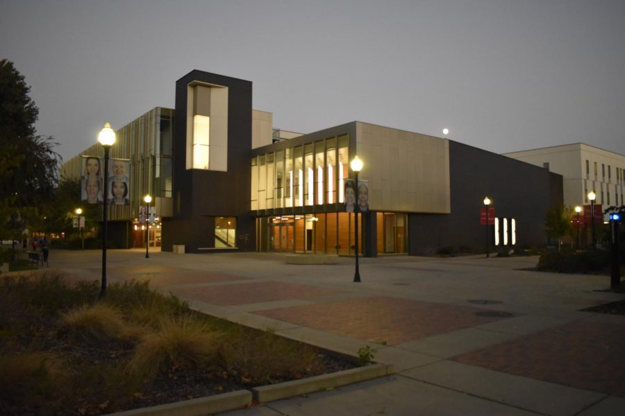 The Arts and Humanities building.