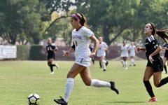 Forward Susanna Garcia takes on the defense.
