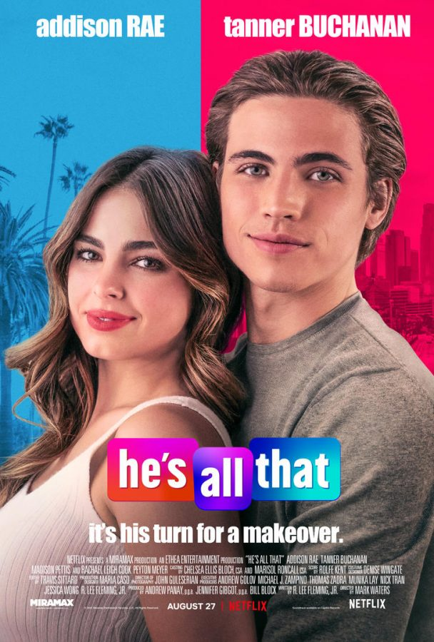 Hes All That promotional poster, photo by Netflix