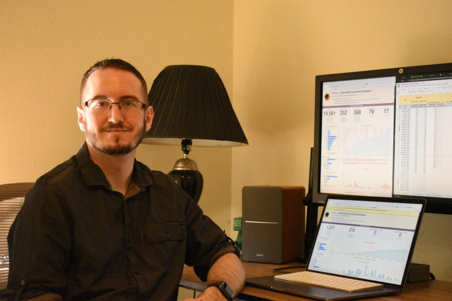 Christian Hammond solely operates the BC19.Live dashboard which tracks COVID-19 data pertaining to Butte County.