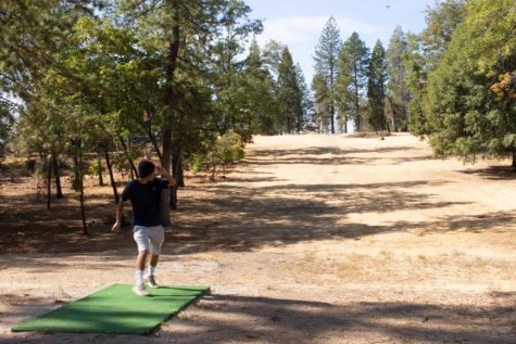 Serious disc golf course rises on the ridge