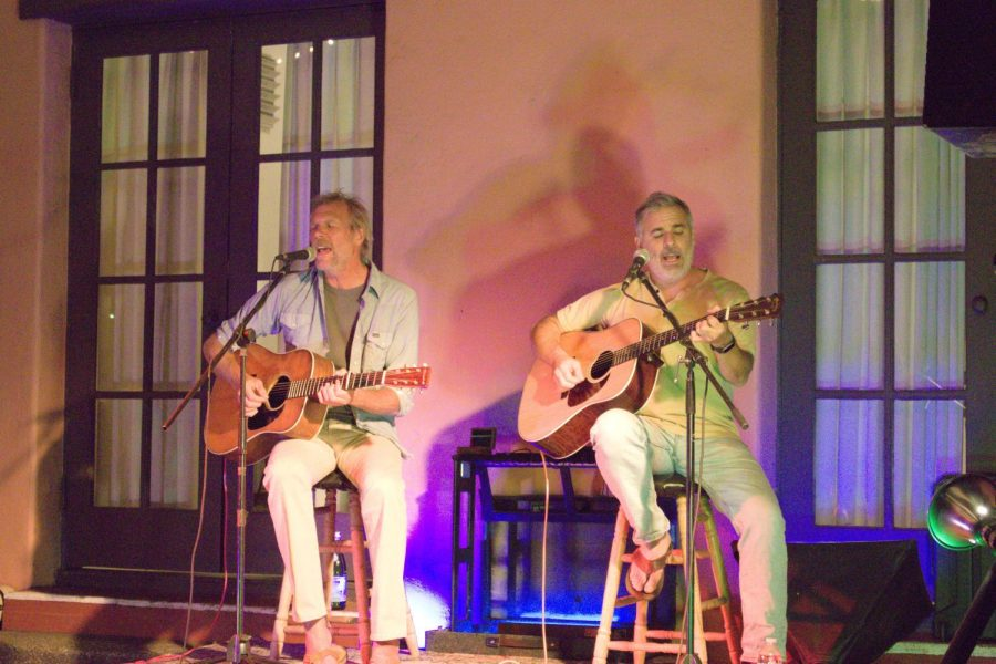 The Mother Hips duo begin their acoustic set