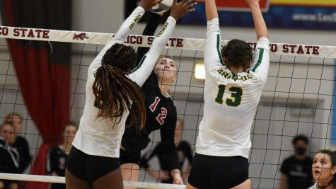 Chico State starting middle hitter Makaela Keeve
