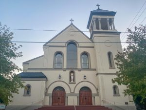This Catholic church located in Chico offers a place for Catholics to publicly worship.