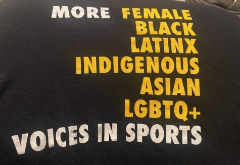 My favorite shirt that supports more diversity in sports