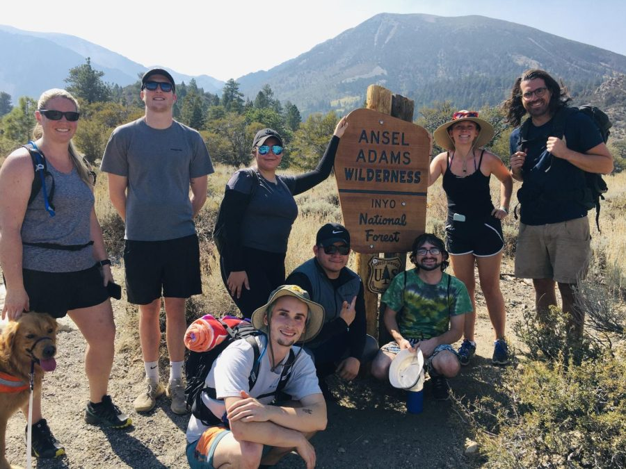 The field study camp team at Inyo National Forest. Photo taken Sep. 24 by Jesse Engebretson.
